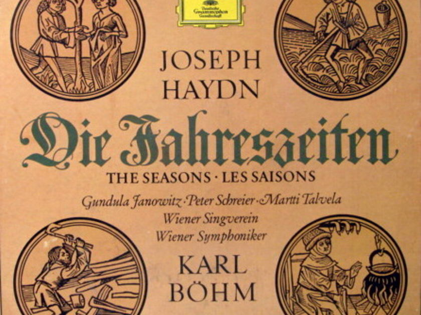 DG / BOHM-VPO, - Haydn The Seasons, MINT, 3LP Box Set!