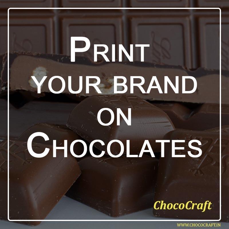 Print your brand on Chocolates