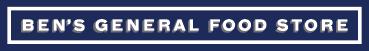 Logo - Ben's General Food Store Publika