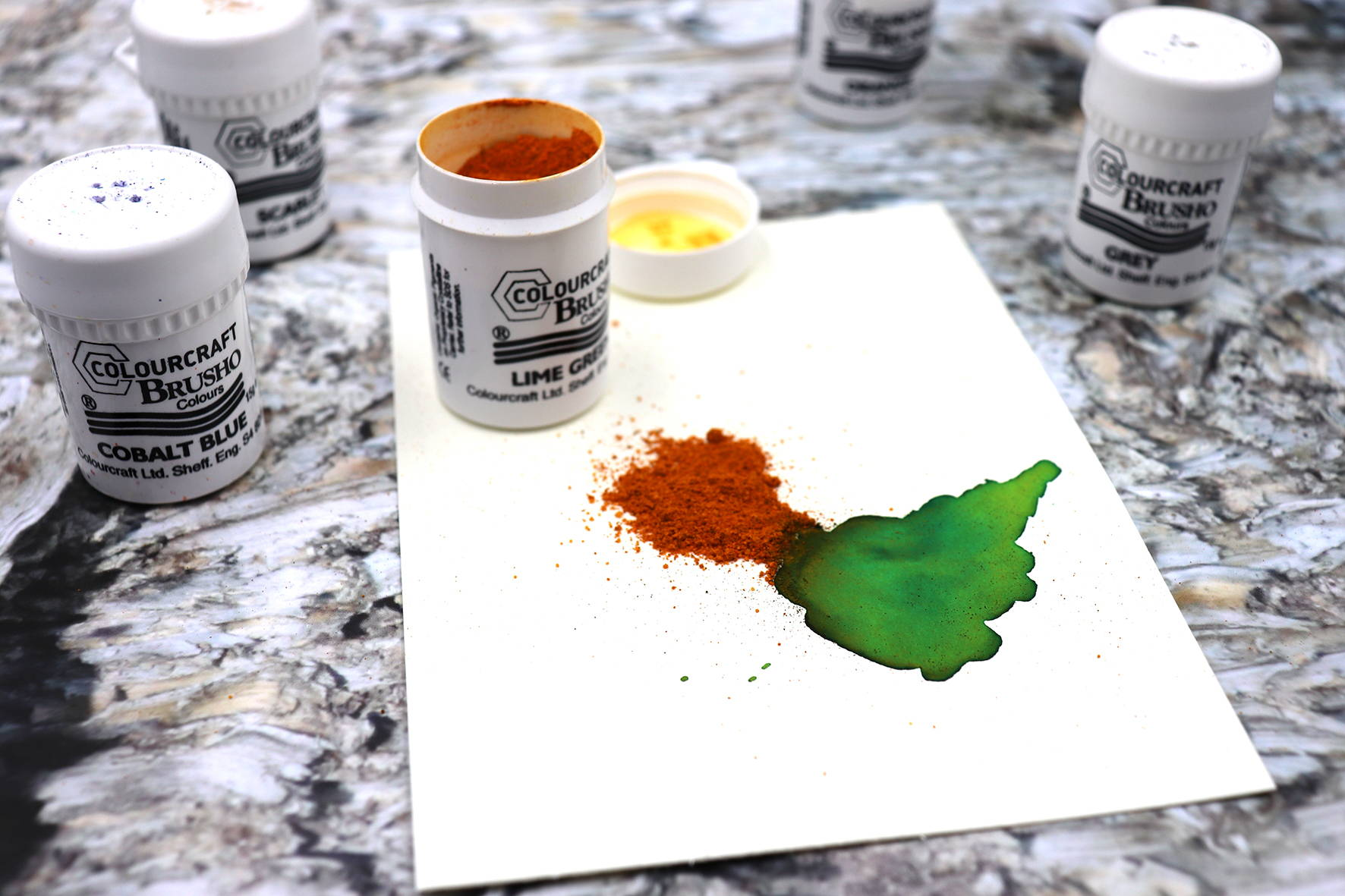 brusho is best mixed media paint watercolour