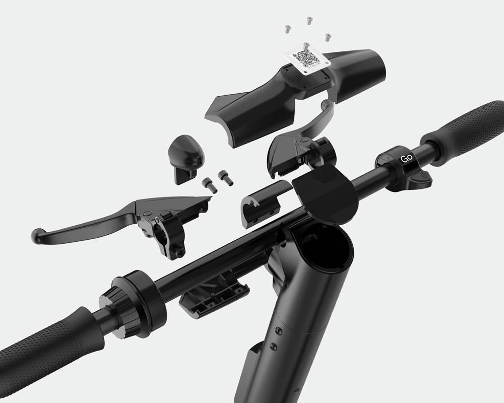 okai-handlebars-es400-exploded-view-screen-qr-code-mobile