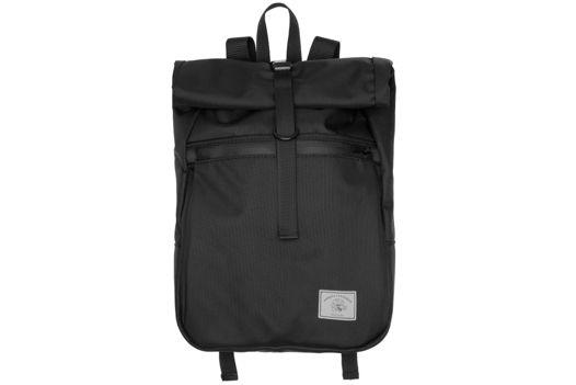 Рюкзак ролтоп черный