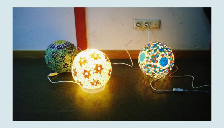 atelier farnsworth mosaik lampen