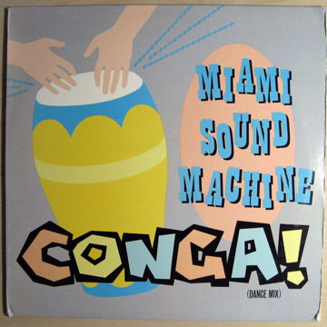 "Conga! 12"" Single -  33 RPM"