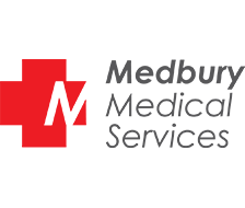 Medbury logo dark