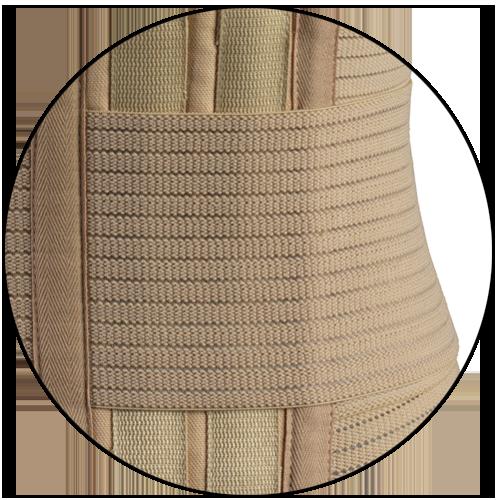 elastic abdominal belt