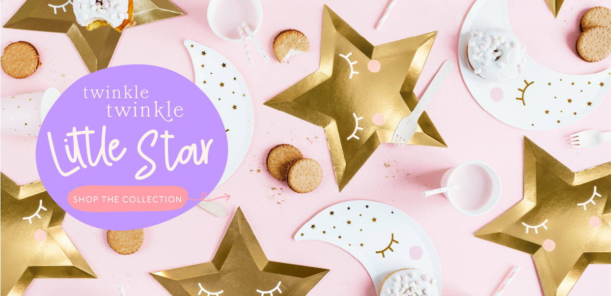 Hello Party Modern Stylish & Luxury Party Supplies Twinkle Twinkle Little Star Party