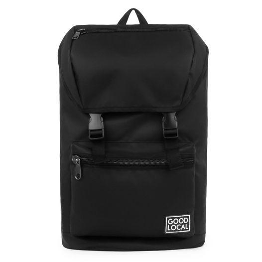 """Черный рюкзак из ткани """"Oxford PU""""  Good Local City O/Zip Black"""
