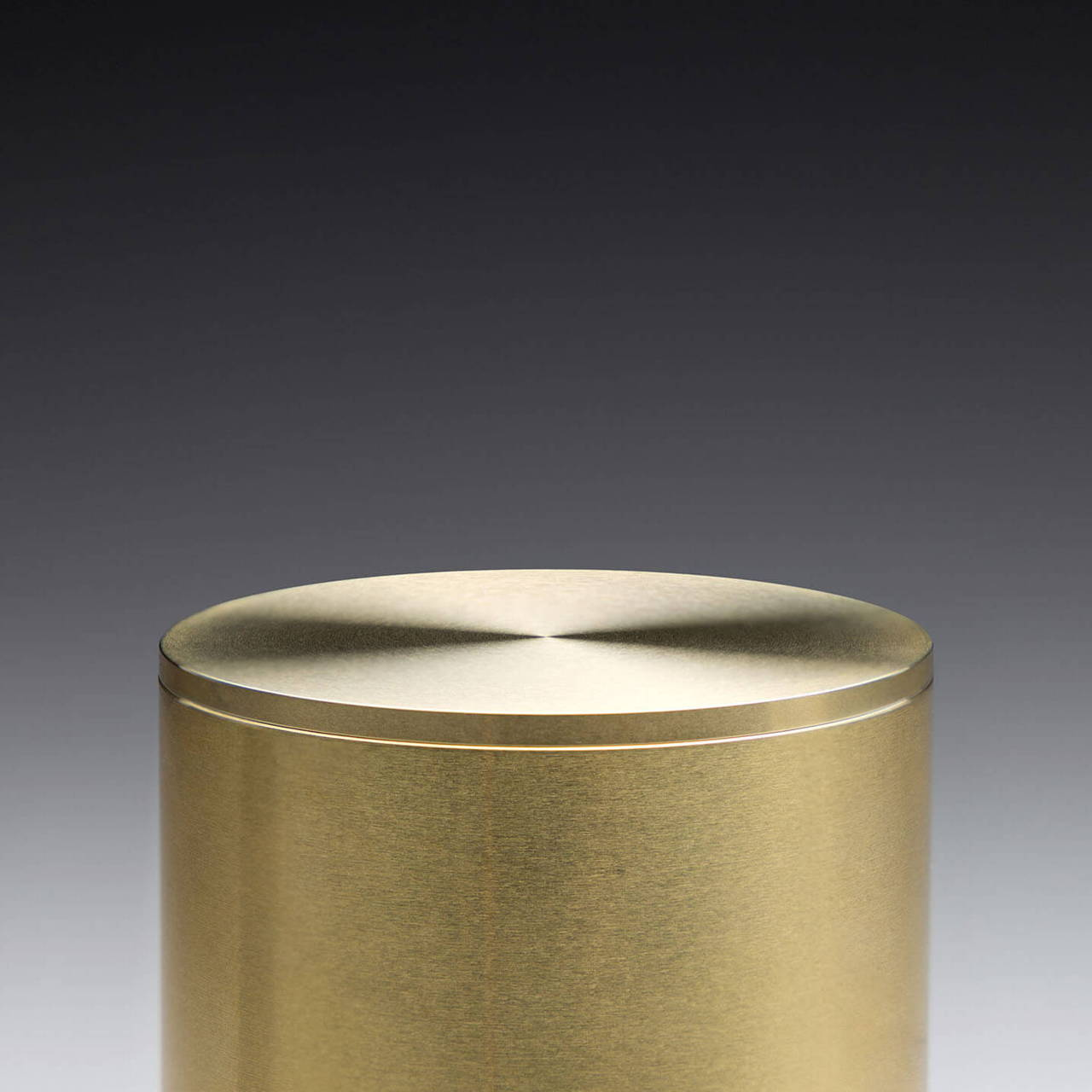 Brass Pot 90 with Lid