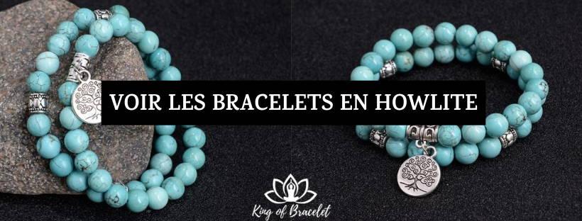 Bracelet Howlite Turquoise - King of Bracelet