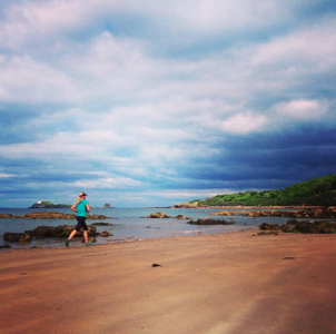Bespoke Edinburgh Running Tour with Lucja