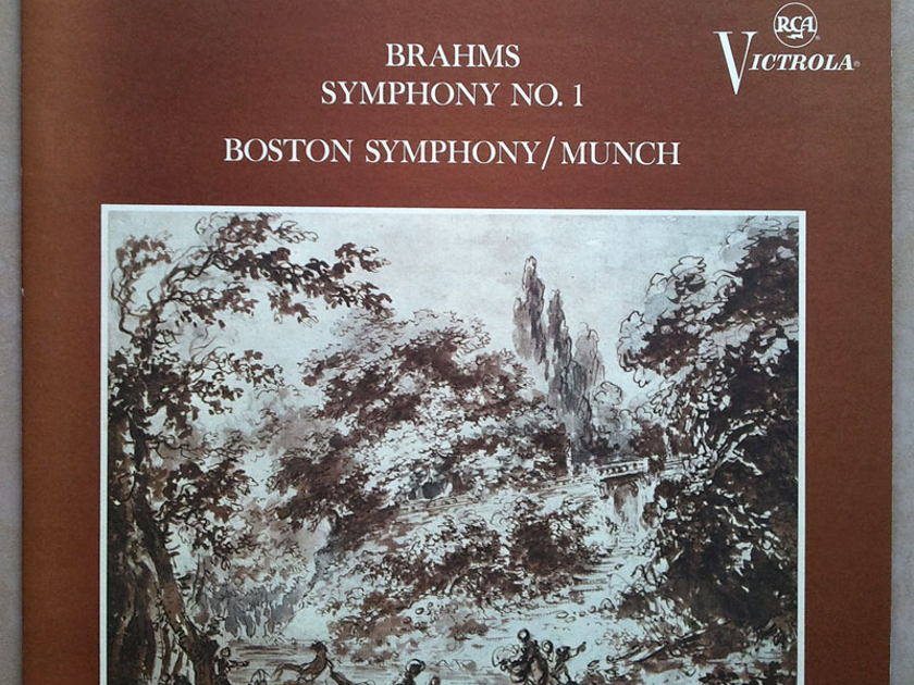 RCA/Munch/Brahms - Symphony No. 1 / NM