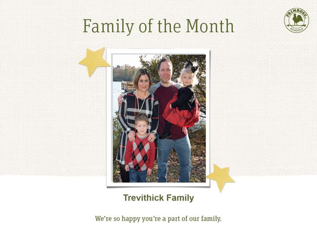 Primrose family of month - april month