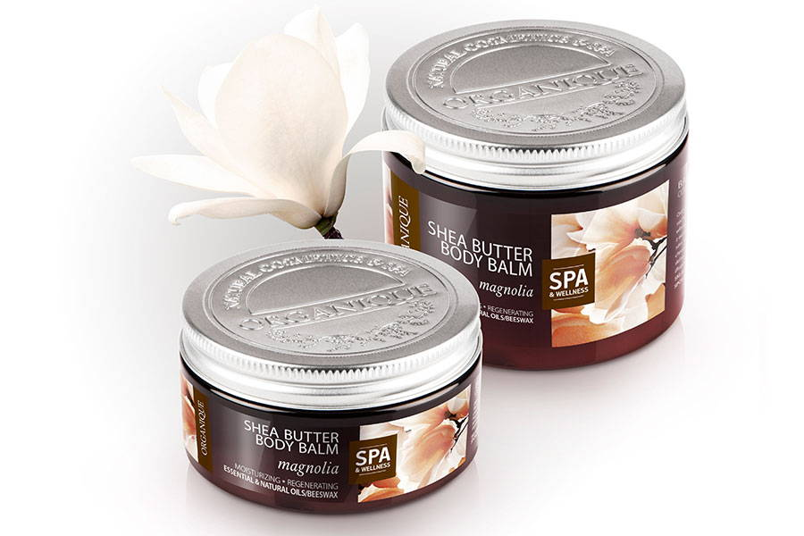 Regenerating And Moisturising Shea Body Butter Magnolia 100ml from Organique natural cosmetics