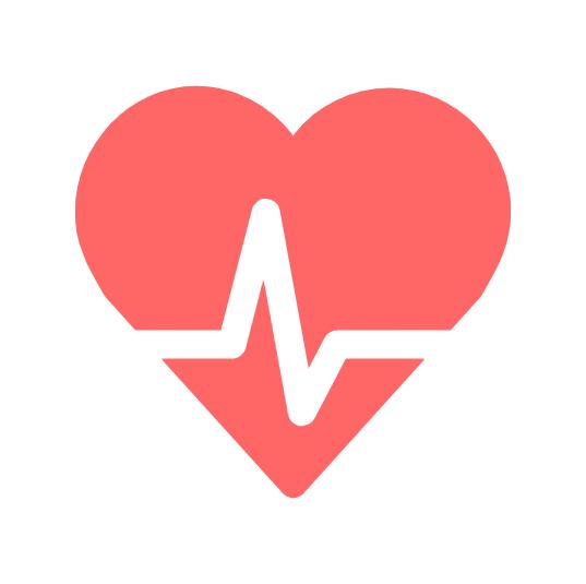 Cartoon artwork of a heart