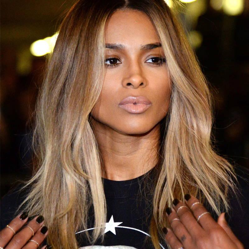 Dark Skin - Blond and Caramel Hair