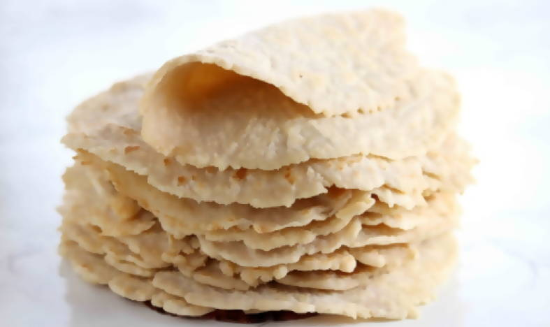 LOW CARB ALMOND FLOUR TORTILLAS