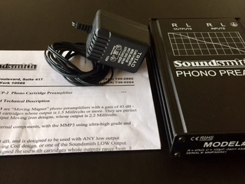 Soundsmith MMP3 Phono-Preamp