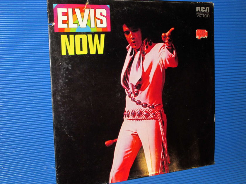 "ELVIS   - ""ELVIS NOW"" -  RCA 1972 Original SEALED"
