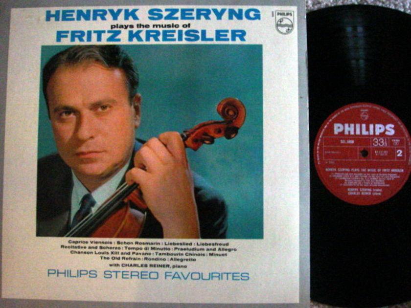 Philips UK Pressing / SZERYNG, - Fritz Kreisler Violin Music,  MINT!