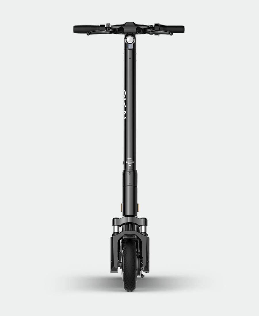Okai-es200-electric-scooter-front-view-mobile