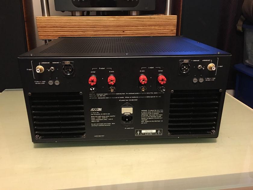 Adcom GFA-5800 stereo power amp