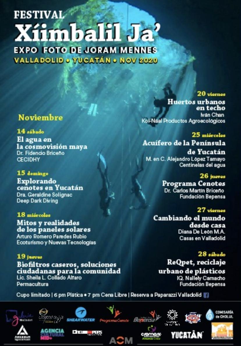 Programa de charlas Festival Xíimbalil Ja'