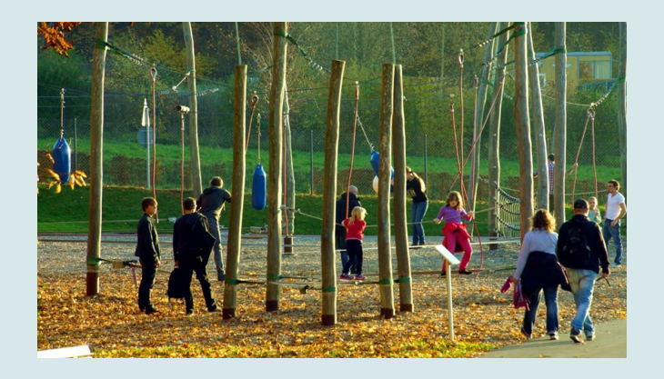sauerlandpark hemer slackline bereich