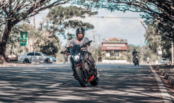 Прогулка по Пхукету на спортивном мотоцикле