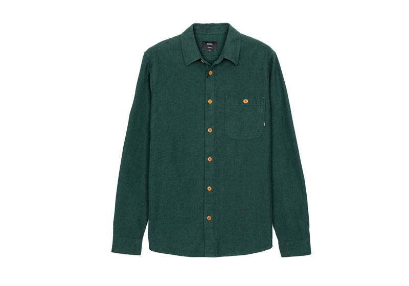 Green Men's Organic Cotton Shirt from Finisterre