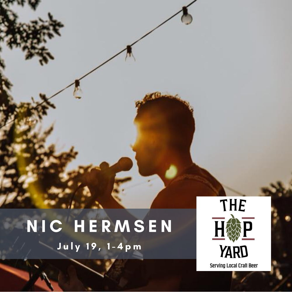 Picture of Local music. Local beer. Beautiful patio seating overlooking Nebraska's largest hops farm. What better way to spend a lazy summer afternoon?