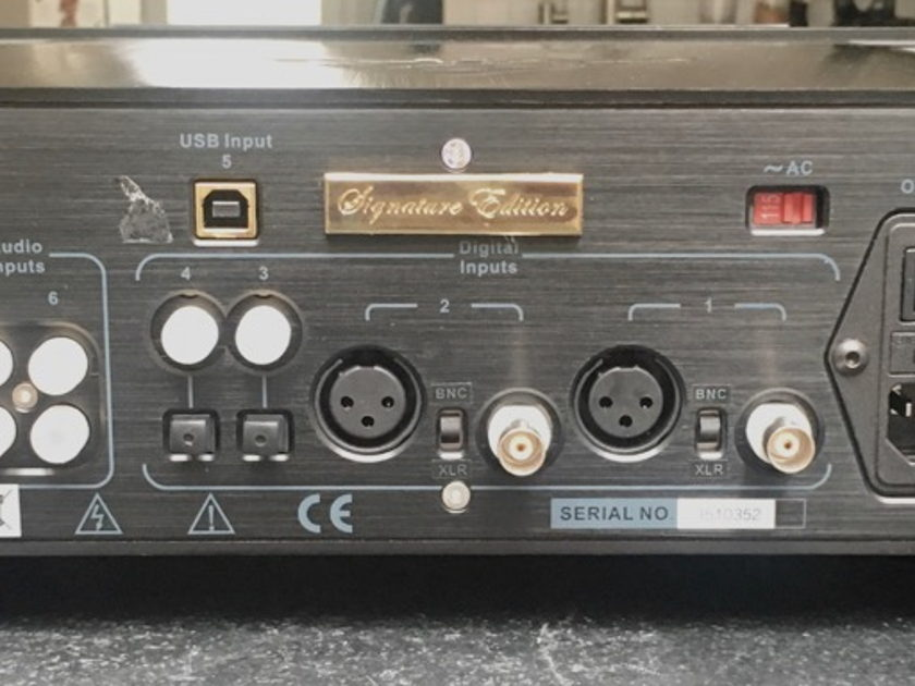 Abbingdon Music Research DP-777SE DAC/preamp NEW latest version