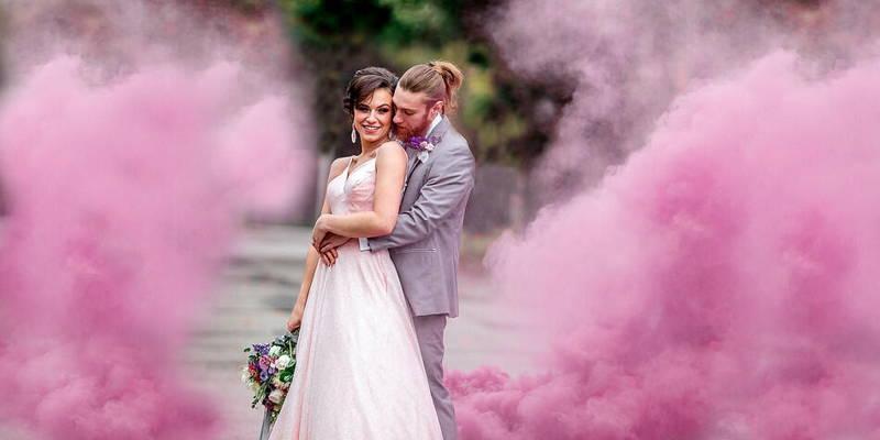 Holographic Iridescent Whimsical Wedding