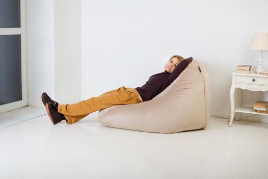 Lounge-кресло нежного бежевого цвета Soft Beige Pie