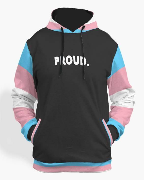 transexual pride hoodie