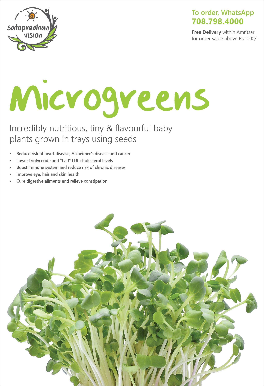 Microgreens Fact Sheet