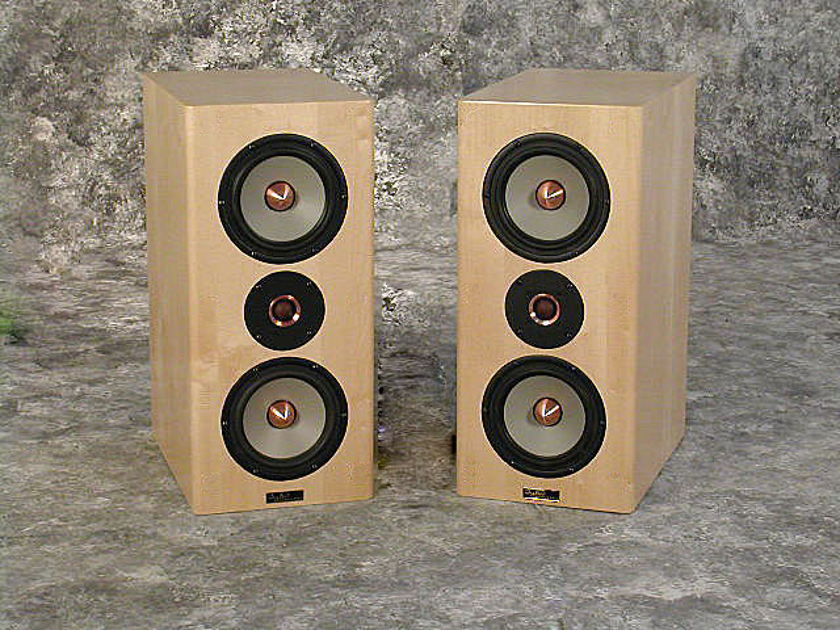 Tyler Acoustics Linbrook sig monitors in maple!  $1800 dhipped!