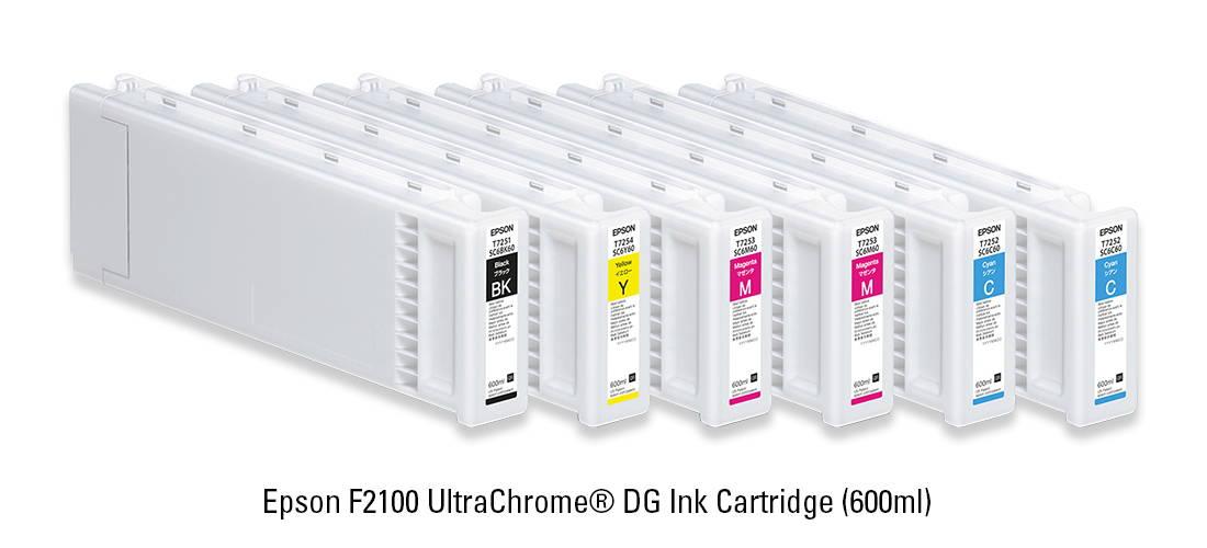 Epson F2100 UltraChrome DG Ink Catridge 600ML