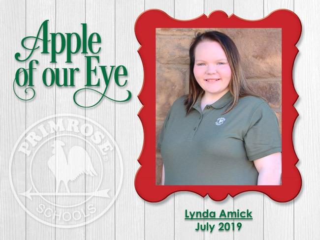 Apple of Our Eye - Lynda