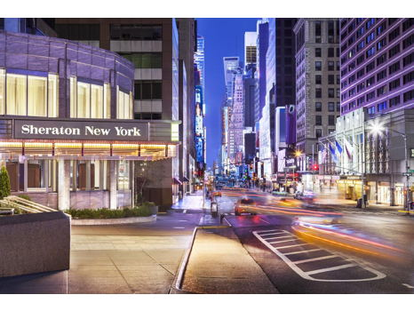 City Weekend!  2 Nights at The Sheraton NY Times Square