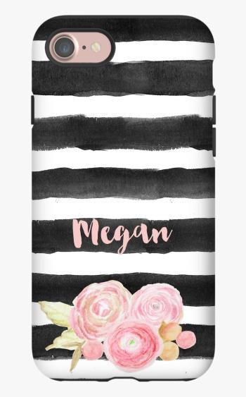 Monogrammed iPhone 8 Case