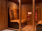 Considering a home steam room? Consider an infrared sauna too!