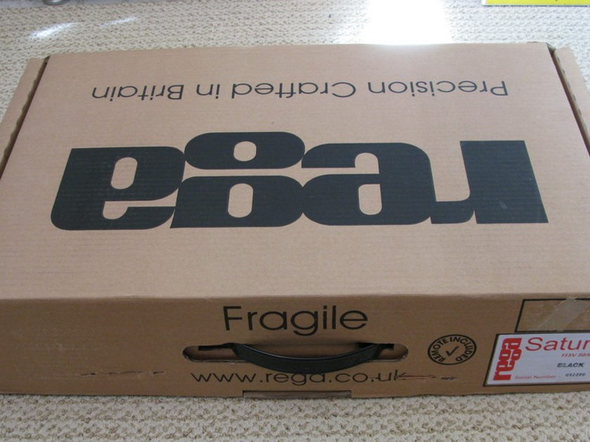 Rega Saturn NEW In Box!