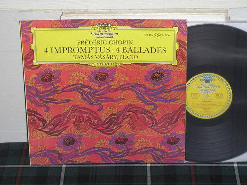 Tamas Vasary - Chopin Impromtus DGG  TULIP German import
