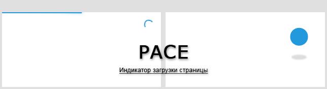 Pace - индикатор загрузки страницы
