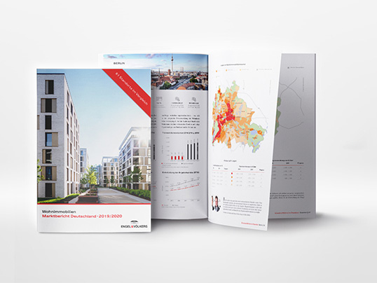 Hamburg - The new Engel & Völkers residential real estate market report is here! A comparison of 61 locations in Germany for 2019. Get the expert's analysis for free!