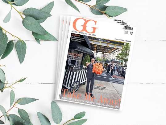 Hamburg - The latest issue of GG magazine has arrived! This time we focus exclusively on the topic of travel and take you on a journey to the most beautiful destinations in the world!