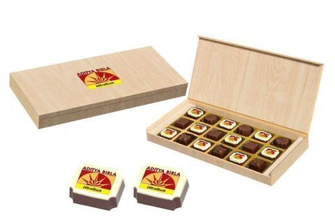 Premium Gifts - 18 Chocolate Box - Alternate Printed Candies (10 Boxes)