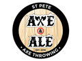 Axe Throwing Party at St. Pete Axe and Ale