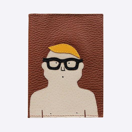 Обложка для паспорта Очки